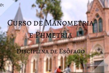Curso de Manometria e pHmetria